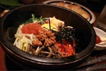 【かなりや食堂】この「おこげ」が決め手!表町周辺の、また食べたくなる絶品『石焼きビビンバ』や、エゴマの葉に包む美味しい韓国料理がオススメのデートでも使いたいお洒落なお店。