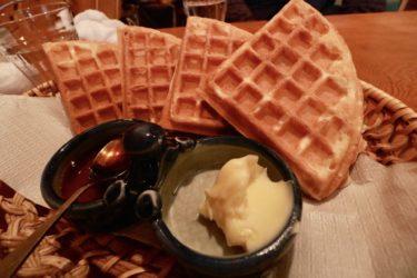 【ぴいぷる】岡山駅徒歩5分『ワッフル』『ソフト・ヨーグルト』が自慢の老舗喫茶店。美味しい珈琲とワッフルをいただきました。