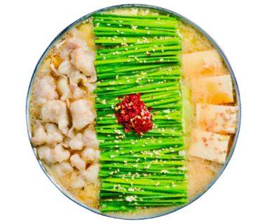 【博多もつ鍋おおやま】バターのようにクリーミーな味噌ベースのもつ鍋を岡山駅で!