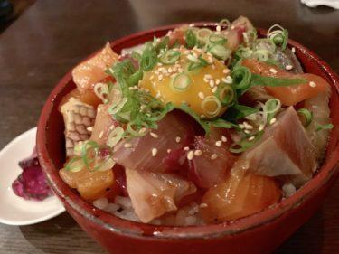 【魚や大将】岡山駅徒歩圏内、忘年会・新年会・二次会にもおすすめの、超分厚いコスパ満点の刺身盛りを食べれる居酒屋。