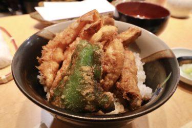【てんぷら 千の種】岡山市中心部に、本格江戸前天ぷら店がオープン!1200円の絶品ランチを食べてきました。
