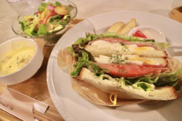 【カフェ・ド・アンリュ】テイクアウトもできる萌え断フルーツサンドが大人気!デザートコッペやサンドイッチランチも美味しいお洒落カフェ。