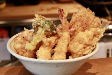 【天ぷらおよべ】とろ〜り玉子天が激ウマ!!岡山で超人気の天ぷら屋さんでリピ確ランチ。