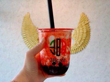 【38Cafe(サンパチカフェ)】新感覚タピオカドリンクが岡山に新登場!タピオカ好きに一度は飲んで欲しい一杯。