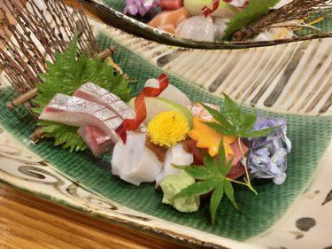 【古民家酒場魚ゆう】倉敷駅付近でコリコリのお刺身を堪能でる海鮮中心の和食居酒屋を発見。