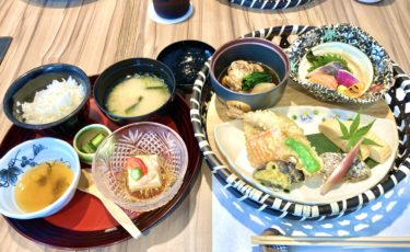 【和み遊膳 つるべ 】後楽ホテル2Fの落ち着いた雰囲気で食べれるボリューム満点和食ランチでお腹いっぱい!
