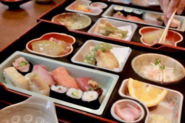 【すし処 今新】問屋町付近の「廻らないお寿司」のお店で丁寧に握られた1100円の寿司定食を堪能