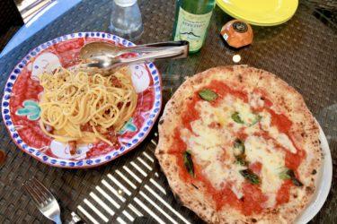 【アペティート 表町本店】表町で食べるお洒落イタリアンで香ばしい生地の美味しいピザと濃いチーズの極太カルボナーラ♪