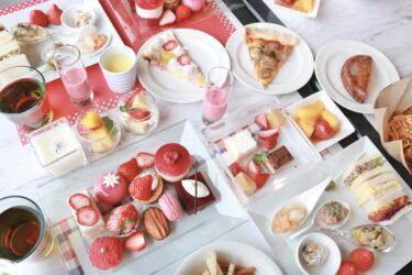 何を撮ってもインスタ映えちゃう♡ホテルグランヴィア岡山の「ストロベリースィーツピクニック」の満足度が半端ない。