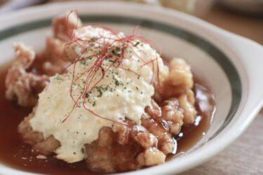 【中村食堂】岡山県庁通り|流るより愛される味!圧倒的ボリュームの「チキン南蛮」と美味しい野菜を食べれるランチ