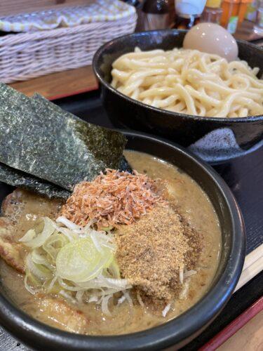 【つけ麺大将】表町周辺|濃厚魚介スープと極太麺が男性客をトリコにさせるつけ麺店。