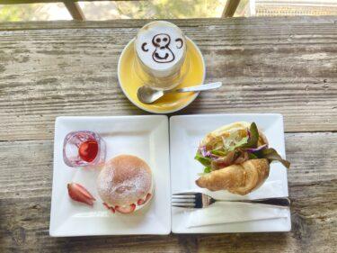 【KOENBENCH / 公園ベンチ】岡山市北区番町|今話題の『マリトッツォ』を食べれる隠れ家カフェで緑を眺めながらのんびり♪