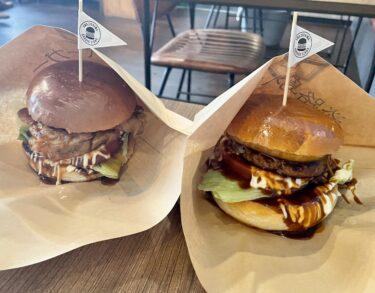 【淡路島バーガースタンド】野田屋町にオープン!淡路島の完熟玉ねぎをふんだんに使ったビーフ100%食べ応え満点ハンバーガーをお上品に・・・?