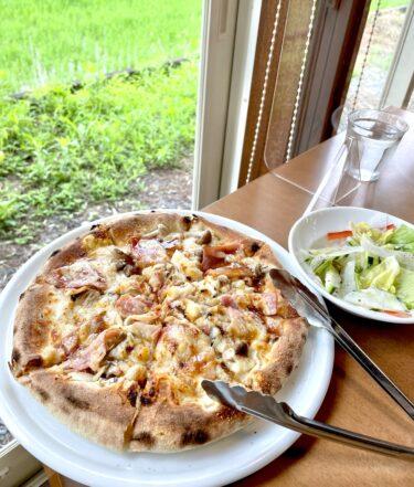 【イル ターボロ ピッツェリア】真庭で美味しいピザを食べるならココ♪真庭在住者に聞いた絶賛石窯ピザランチ!