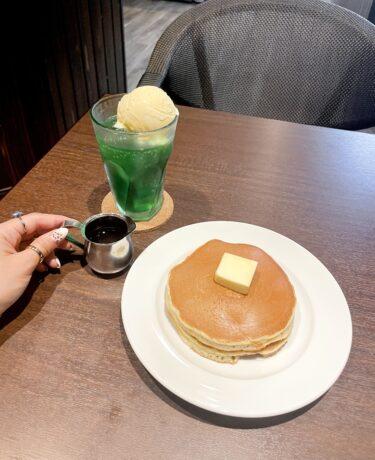 【カフェ&ホットケーキ チュリップ】表町|2021年4月オープン!想像以上に美味しいホットケーキを食べれる喫茶店。
