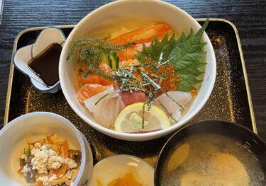 【すし園】岡山市南区妹尾|本格寿司屋の美味しいランチ。海鮮丼と天ぷら&刺身御膳に舌鼓♡