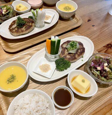 【irori (いろり)】問屋町のお洒落カフェでしっとりもちっとハンバーグランチ♡