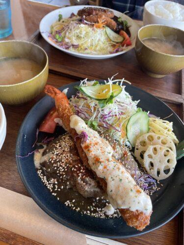 【洋食 kolme】岡山市中区 ボリューム満点ハンバーグランチが超美味しい♡リピ確人気カフェ。