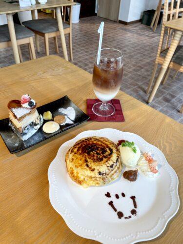 【菓子職人Chez Miura's(シェ・ミウラ)】岡山市南区|美味しいに決まってる!!ケーキ屋さんの「クリームブリュレパンケーキ」