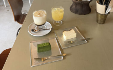 【kazahaya coffee(カザハヤ コーヒー)】総社市|リピ決定!美味しすぎるスウィーツとお洒落空間。岩塩で食べるバスチーの虜に・・・♡