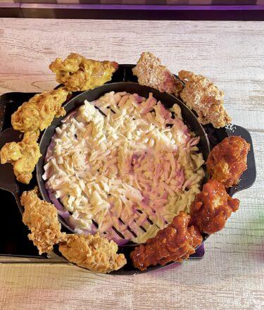 【オジョチゴ ネオ韓国料理】岡山駅前|6月オープン。ネオンと韓国料理コラボが非日常!UFOフォンデュも食べれてインスタ映え♡